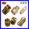 Customized cnc machined Components brass connector motorcycle fitting