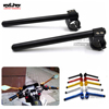 BJ-COHB-041 Motorcycle CNC 41mm Clip On handlebar Lift handle bar Fork Tube Yzf R25 Clipons Hand Bar for Yamaha Yzf R3 2015-2017