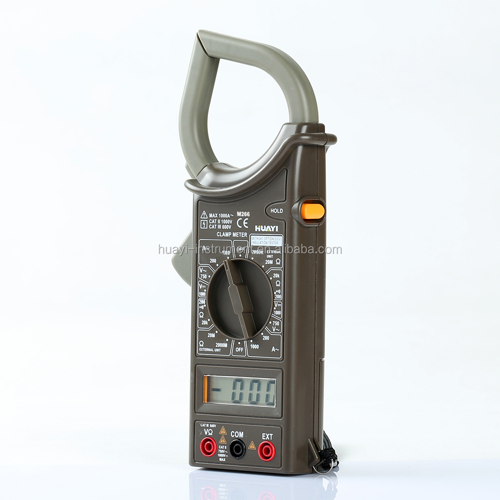 mini ac clamp meter 266,digital clamp meter M266 wholesale
