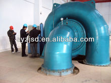 turbine generator hydropower station with ball valve automic PID PLC governor