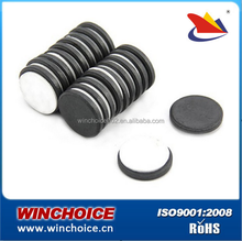 Cylinder Permanent Ferrite Magnet Y30BH For Speaker Sound Box / Car Wiper Motor