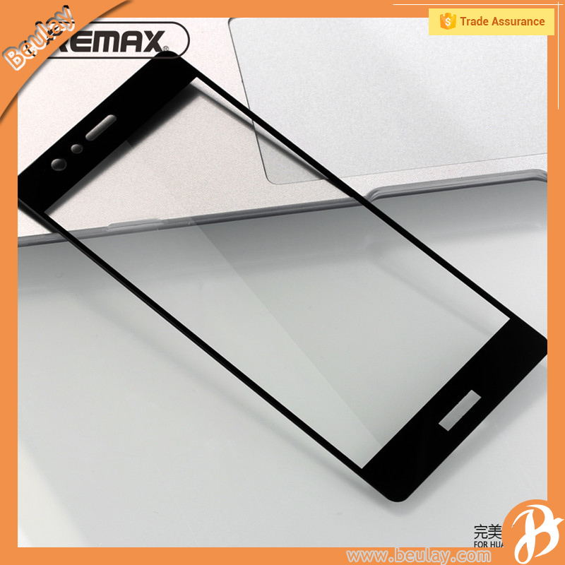 Fast delivery shop front glass price protector para celulares for huawei p9 tempered glass