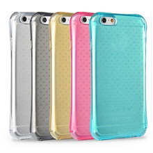 Air sac protective dots design crashproof TPU case for MOTO G