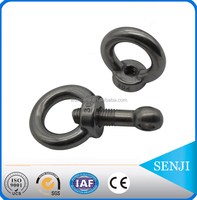 hardware supplies stainless steel a2-70 a4-70 ring eye bolt