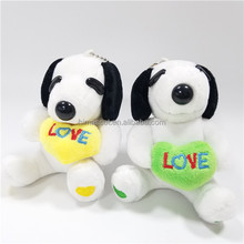 HI CE wonderful plush stuffed toy Snoopy for selling,high quality movie character Snoopy for kids birthday party