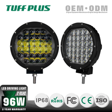 "Hot sale 96W 9"" round led driving light off road driving lamps led light for truck trailer"