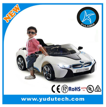 Licensed BMW I8 ride on car,remote control baby electric car,MP3,SD card player kids battery powered ride on toys