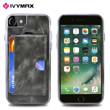 IVYMAX Popular Style card sliding case for iphone 8