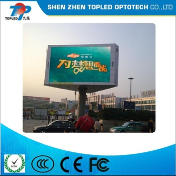 Hot Sale P10 SMD Full Color Energy-saving Outdoor LED billboard for advertising