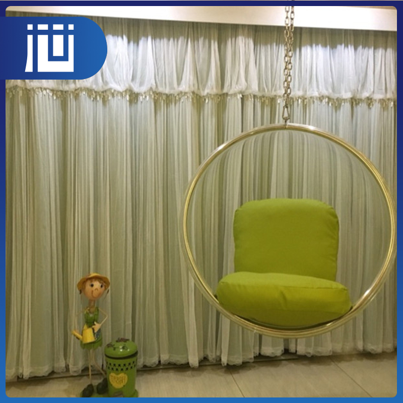 Fancy multicolor wholesale ready made elegant auditorium curtains swag