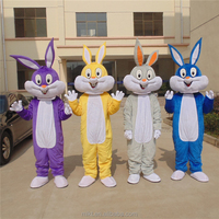 China factory produced adult mascot Easter bunny costume