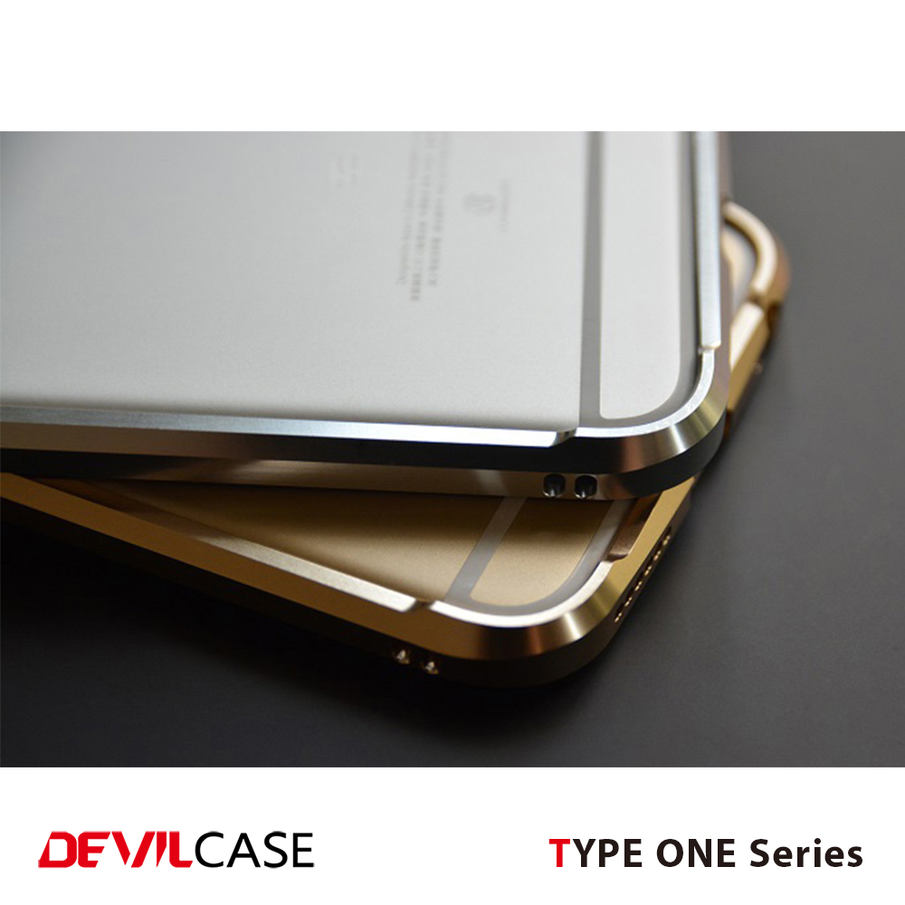 [DEVILCASE] Light Weight 100% A6061 Cellular Phone Bumper Case for iPhone 5 5s SE 6 6s 6+ 6s+ 7 7+ Smart Hand Phone