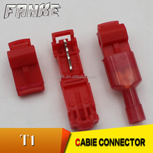 Factory directly Insulated T1 Tin Plated Copper Quick Splice Terminal Connector