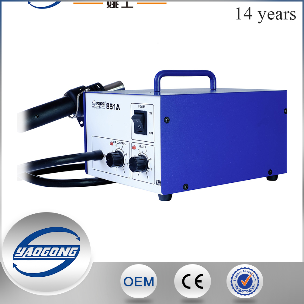 Mobile repair tools smd rework station YAOONG YG-851A low cost infrared bga rework station