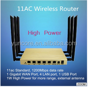 Reliable Perfirmance MT7620A 802.11 AC Wireless Router 5.8GHz