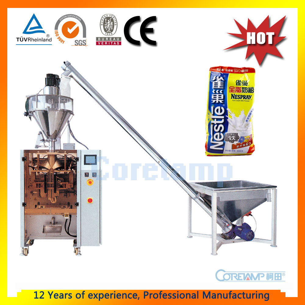 Vertical Weighing Date Printing Salt Sugar Flour Dry Sachet Powder Filling and Sealing Machine