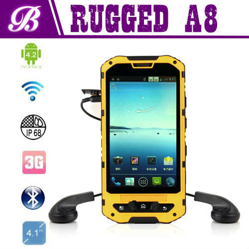 Land Rover A8 Waterproof Rugged Android 4.2 IP68 Mobile Phone with 3000mah Battery