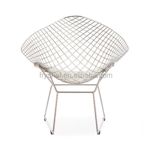 Custom Made Commercial Furniture Metal Wire Chair