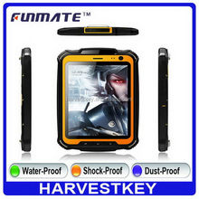 Cheap promotional T1 7.85 inch 13M Camera car rugged fanless waterproof tablet