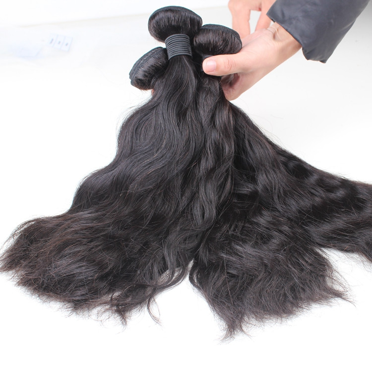 Hot Selling Unprocessed No Lice Natural Wave Malaysian Wholesale Virgin Cuticle Aligned Hair