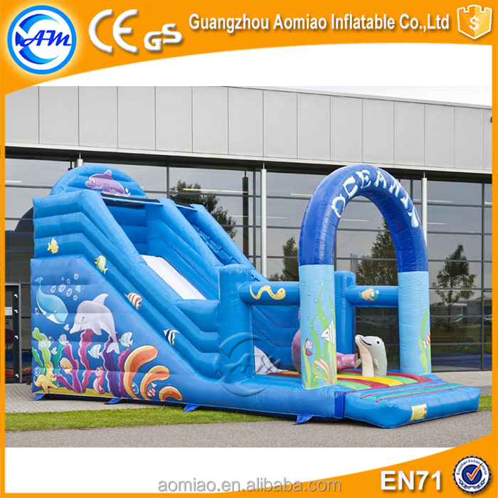 Hot sale cheap big kahuna inflatable water slide for adult