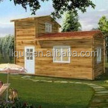 2015 low cost Prefabricated Wooden house for sale from Factory in china
