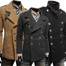 Onenweb w Men's fashion classic double-sided double-breastedmens fashion coat 2014