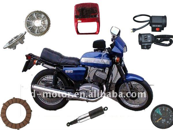 JAWA 350 Motorcycle parts