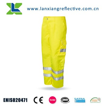 Safety Yellow Work Wear Pants LX812