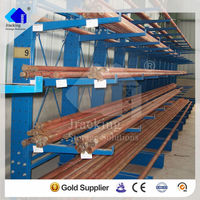 Cantilever racking ; hot galvanized heavy duty cantilever steel structure pipe rack