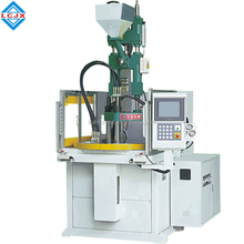 55ton vertical injection molding machine plastic plug and phone case Rotary Table injection moulding machine medical injection
