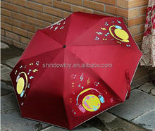 2015 high quality 8K Color Changing Umbrella