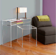 China manufacturer wholesale acrylic bed side table