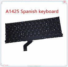 "Support Drop shipping Laptop Replacement A1425 Spanish keyboard for Apple MacBook Pro Retina 13"" A1425 2012"