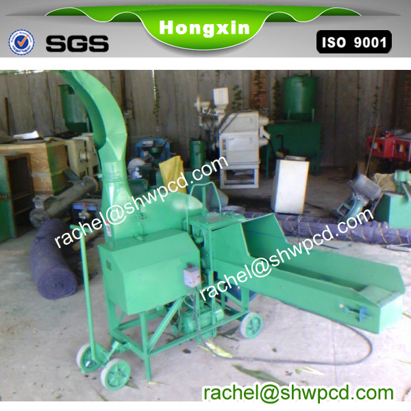 wholesale tractor green dry grass staw chaff cutter shredder