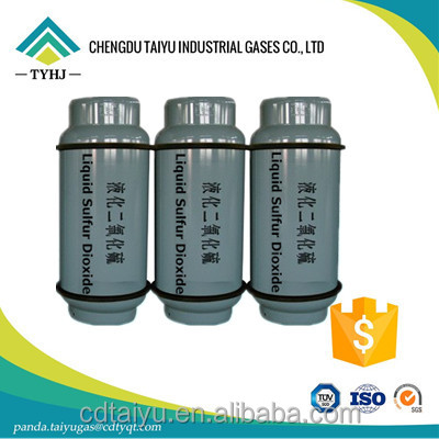 China Facroty 99.9% Liquid Sulfur Dioxide SO2 Gas Price