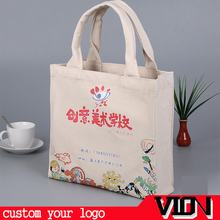 Factory price custom recyclable canvas cotton tote bag
