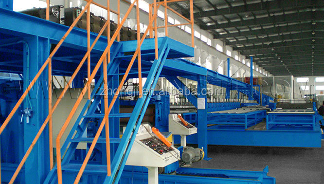Continuous PU fiber cement board Sandwich Panel Production Line