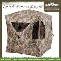True Adventure TA7-020 Outdoor Camping Equipment 145x145x165 Hunting Ground Tents Camo Patten Hunting Blind