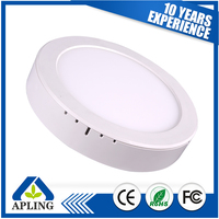 High qulity 3W 9W 12W 15W 18W 24W led round panel