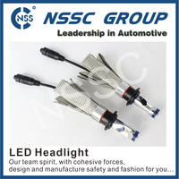 Canbus Automotive spare parts LED Car lighting, Philip chip auto car LED Headlight Bulbs