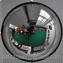 2015 new style Plastic Wide Angle Indoor Full Dome Mirror spherical mirror