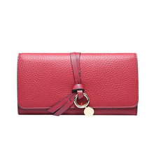 2018 New famous brand women wallet,<strong>Fashion</strong> and Multifunctional Leather ladies Wallet