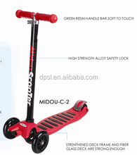 4 wheels adjustable kick kids scooter for sale