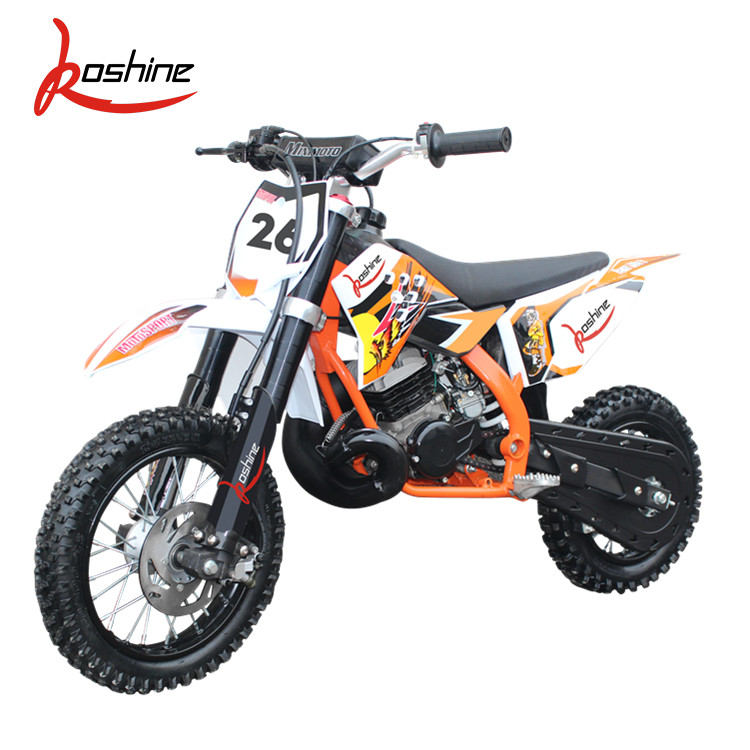 Best Quality Chinese 2 Stroke 50CC Motorcycles Dirt Bike For Kids
