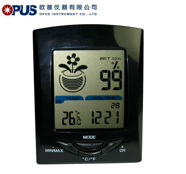 Low price time set temperature and humidity meter