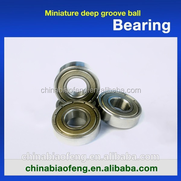 ZZ/2RS Ceiling Fan Bearings Chrome Steel Bearing for Silding