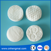 Makeup Remover Cotton Rounds Facial Pads Cosmetic Bulk Facial Puff Round for Lady's Beauty