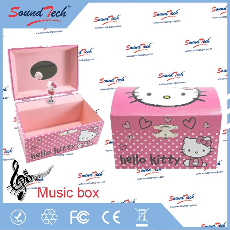 battery operated music box