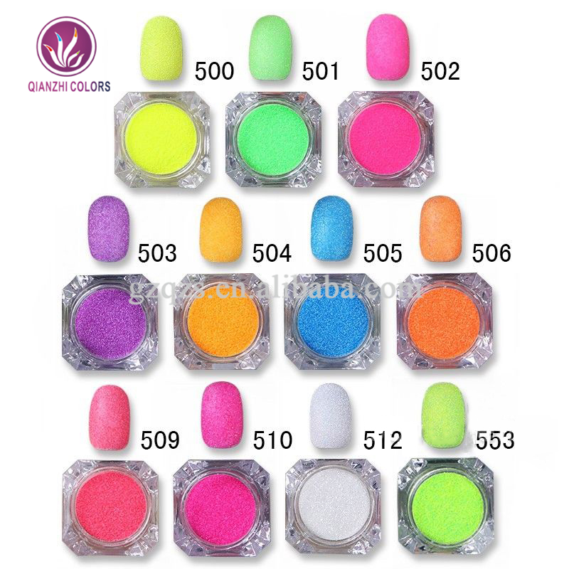Newest selling nail art sequins glitter nail acrylic powder for nail decoration